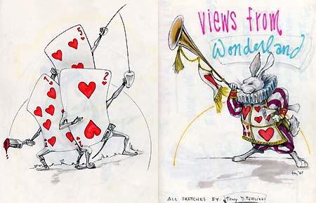 """""""Views from Wonderland"""" spread"""