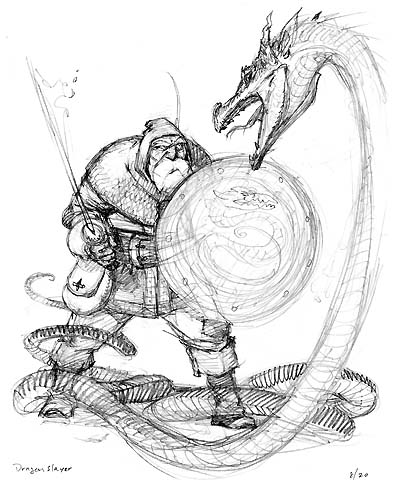 Dragonslayer sketch