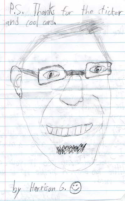 Tony D drawn by Harrison