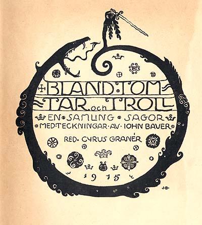 """""""Bland Tom Tar ocn Troll"""" by John Bauer"""
