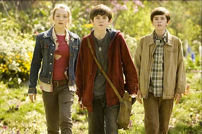 The Grace kids from the film THE SPIDERWICK CHRONICLES
