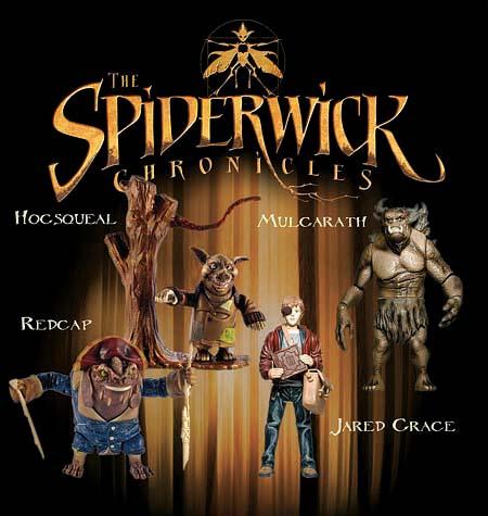 Spiderwick Action Figs