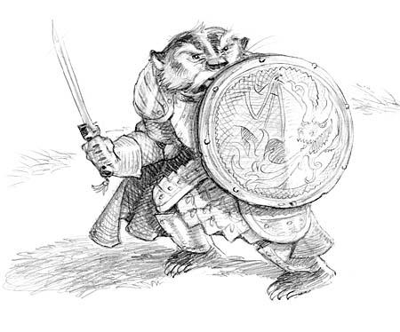 Developmental Sketch of George E. Badger