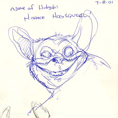 Early scribble of Hogsqueal