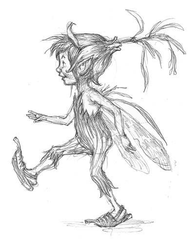 """""""Pixie"""" sketch by Tony"""