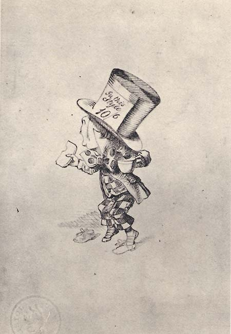 Tenniel's final pencil drawing