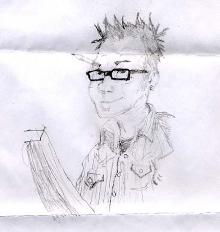Tony D drawn by Maxwell