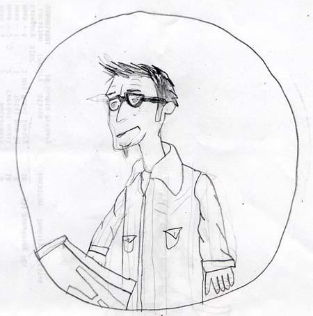 """Tony D take 2″ drawn by Neil"
