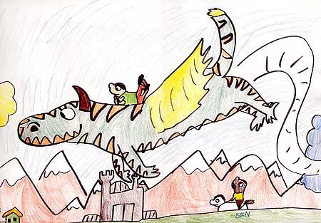 """Western Dook Dragon"" by Ben"