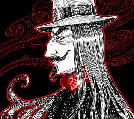 """Dracula"" final ink"