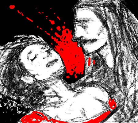 """Dracula"" sketch 3"