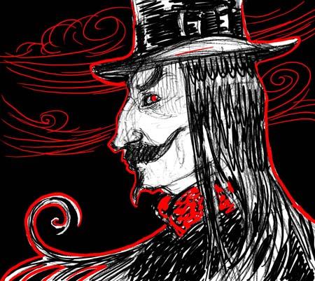 """Dracula"" sketch 4"