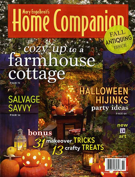 Mary Engelbreit's HOME COMPANION Oct/Nov '08