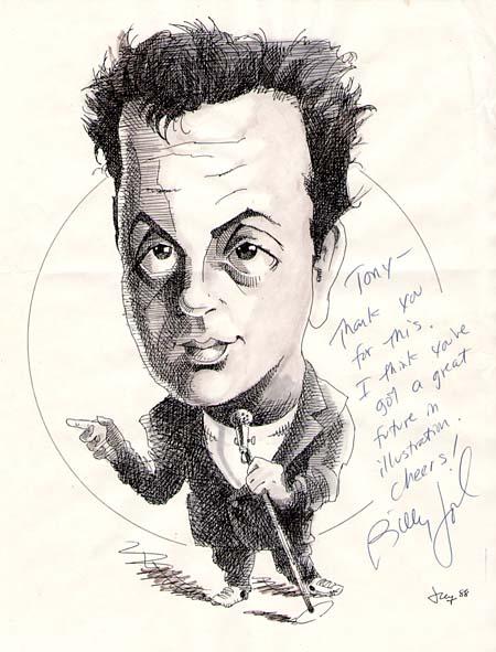 Billy Joel, 1988