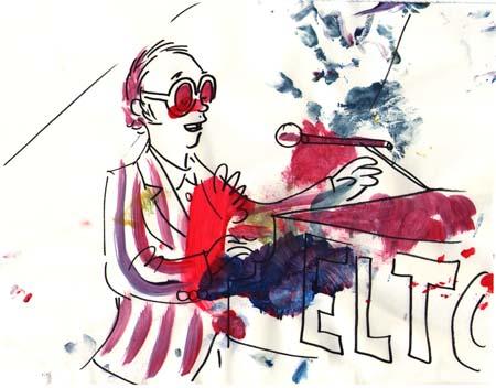 Singing Elton