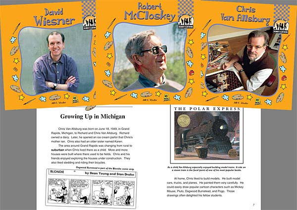 Childrens publishing blog tony diterlizzi i like this series of books not because i am the subject for one but because they focus on illustrators both past and present who have had an impact on fandeluxe Choice Image