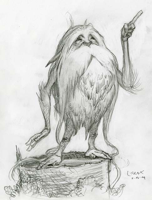 DiTerlizzi_Lorax_sketch