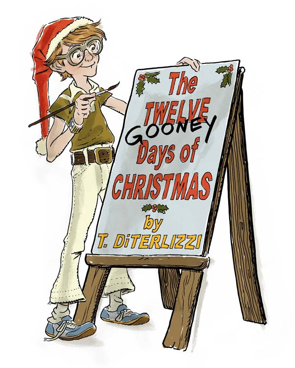 The Twelve Gooney Days of Christmas