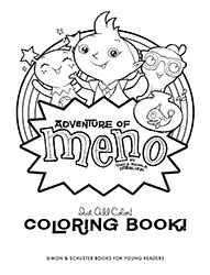 Meno Coloring Book (21 pages)