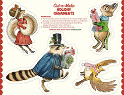 Woodland Holiday Ornaments